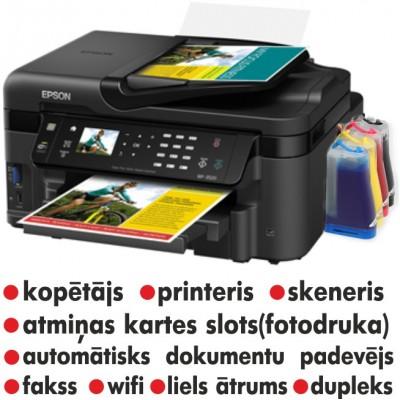 Epson printeris 3620 ar Ntps